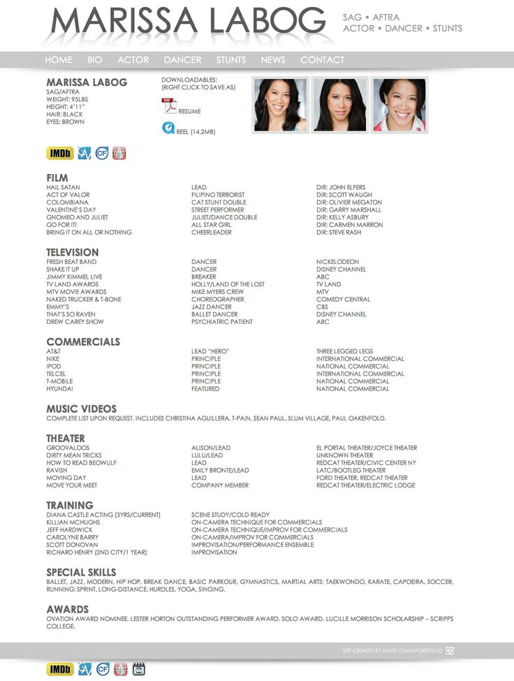 david chan portfolio dancer resume work find it