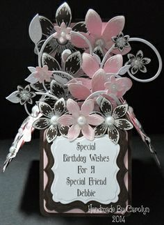 birthday box cards - Google Search
