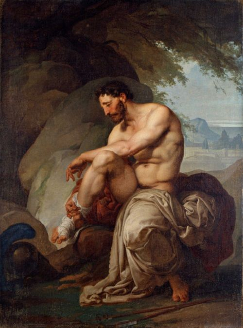 Francesco Hayez - Filottete ferito