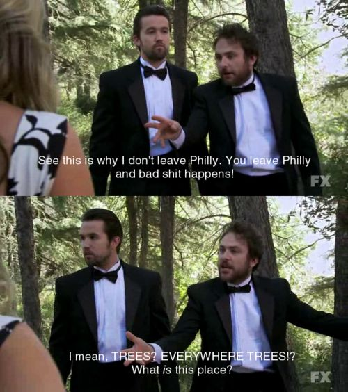 This episode of It's Always Sunny in Philadelphia was one of the most difficult hours of television I've ever watched. I had to stop several times. What a great, dark, disturbing show.