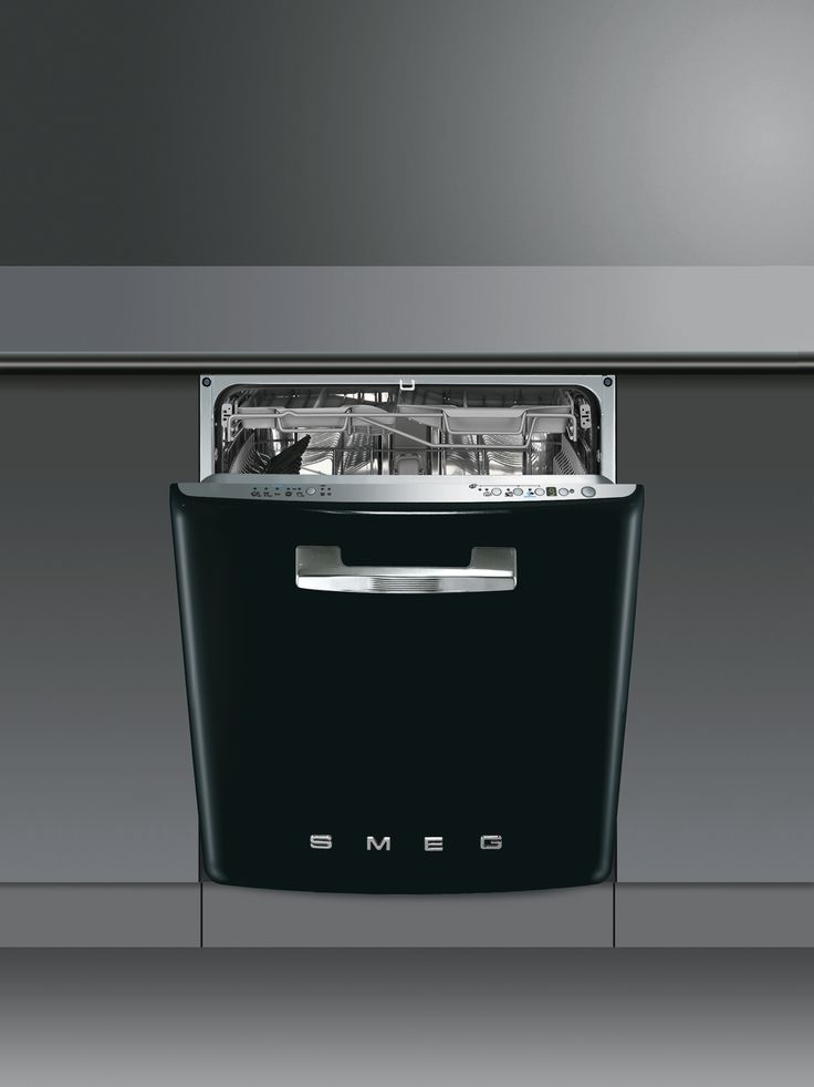 60cm 50u0027s style builtin dishwasher in black energy rating