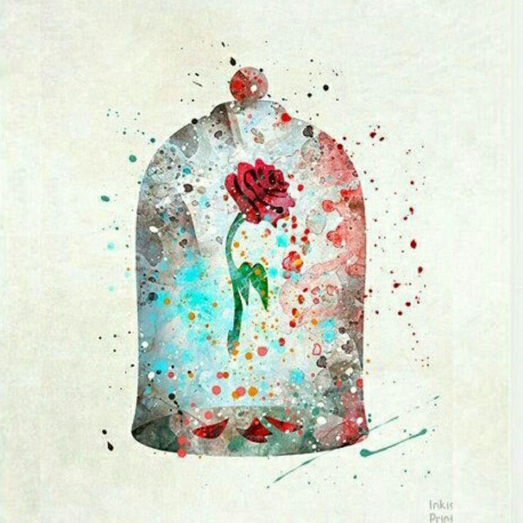 Flor da bela e a fera