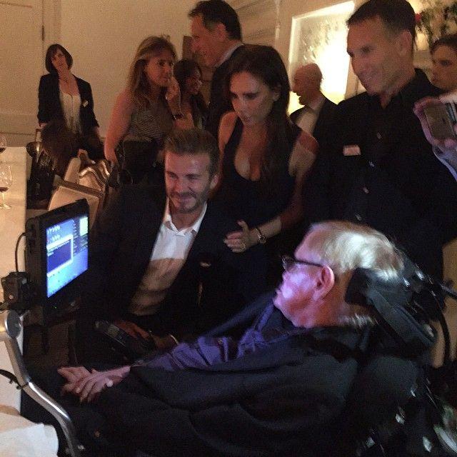 Thank you @Google for an inspiring evening, was an honour to meet Stephen Hawking x vb