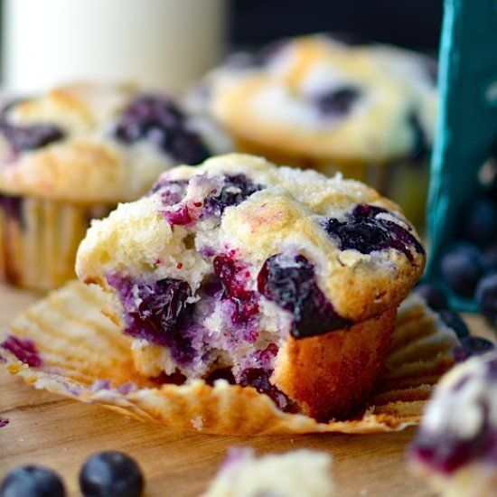After weeks of tweaking and experimenting the most perfect blueberry muffin recipe ever is here! Plus muffin tips and troubleshooting!