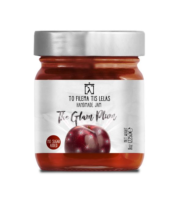 TO FILEMA TIS LELAS - HANDMADE PLUM JAM