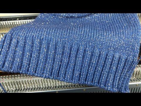 Knitting Machine 21. 2x1 Rib.
