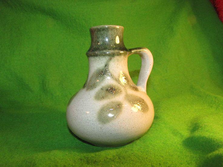 #Vintage #Sweden Flower #Vase  #Scandinavian hand painting Home #Decor #Design