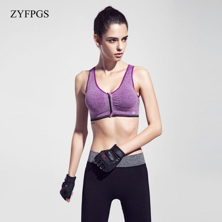 [5Color/3size]FIVE PANDA 2017 Brand Sports Bra Women Fitness Running Shockproof Workout Training Crop Tops Gym Yoga Bras CSB015 -- AliExpress Affiliate's buyable pin. Click the VISIT button to find out more on www.aliexpress.com