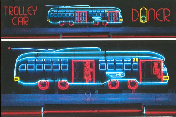 Animated Trolley Car Diner, 2000