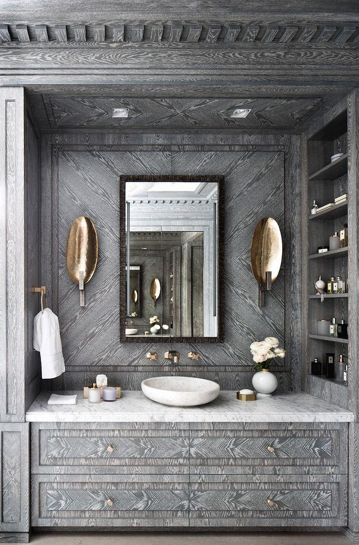 Interiors | Glamorous Bathroom Design Katya Fedorchenko @ Art Of Decor