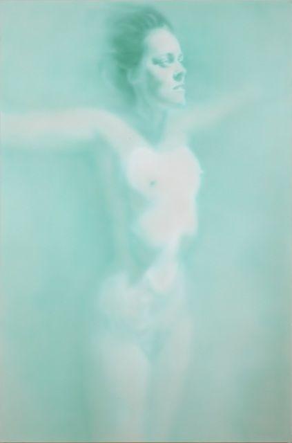 Fiona Lowry, Gliding Over All (2012), Acrylic on canvas, 183 × 123 cm