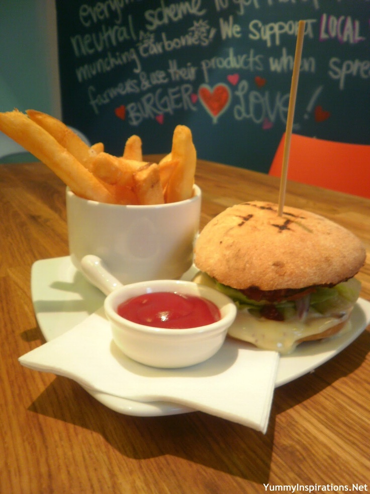 Jus Burgers, South Yarra - ingredients are fresh, locally sourced, never frozen, grass fed plus there's an organic option.