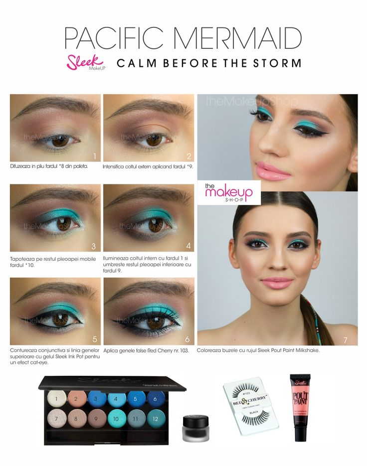 Paleta Farduri Sleek Calm Before The Storm- Nautic - Makeup Shop