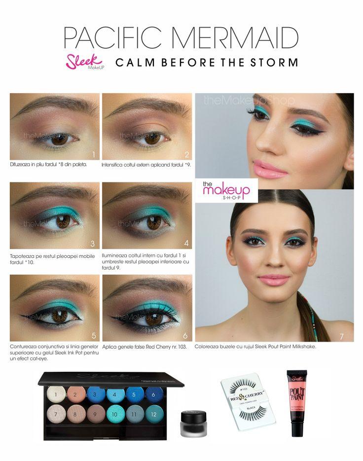 Paleta Farduri Sleek Calm Before The Storm- Nautic - Makeup Shop