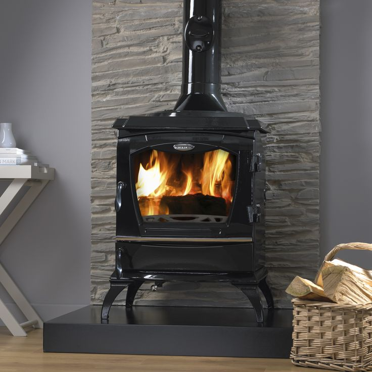 Find out more about how you could cozy up to this beautiful Stanley Reginald Black Enamel stove.