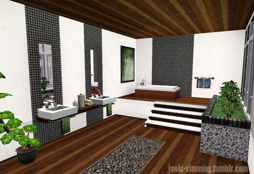 55 best sims 3 no cc ideas images on pinterest sims 3 for Bathroom ideas sims 3