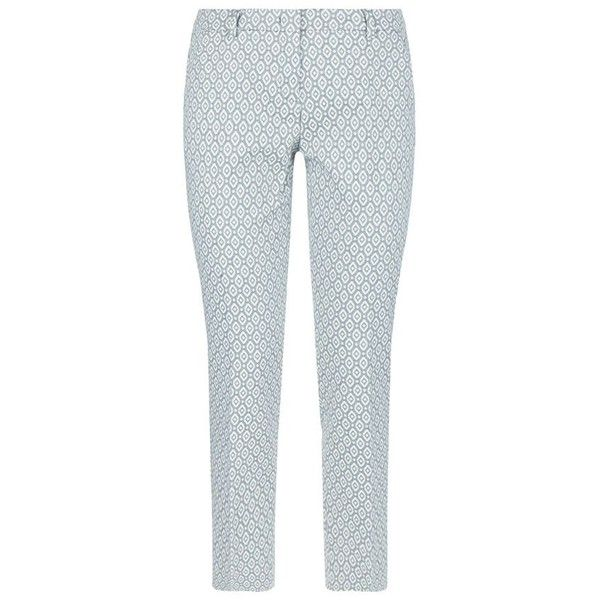 MaxMara Weekend Eles Slim Cigarette Trousers (7.730 RUB) ❤ liked on Polyvore featuring pants, capris, cigarette trousers, slim pants, tailored trousers, slim fit trousers and cigarette pants