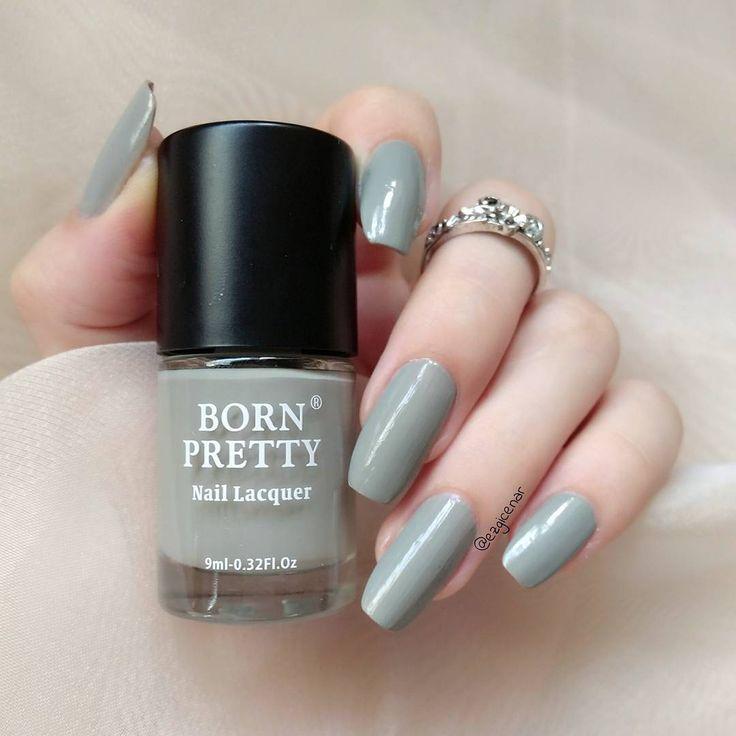Grey Series Nail Polish Long-lasting, shared from bornprettystore.com customer