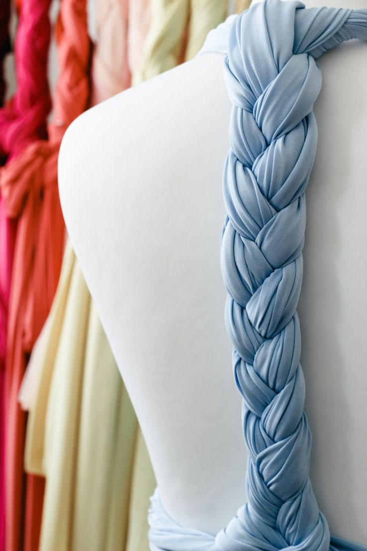 Braid back tutorial | A new way to tie your multiway dress