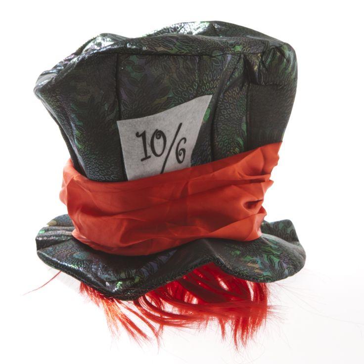 Mad Hatter Metallic Hat