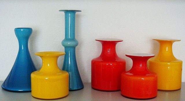 Holmegaard - Carnaby - glass vases