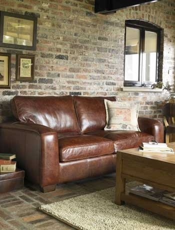 I like the leather against the brick