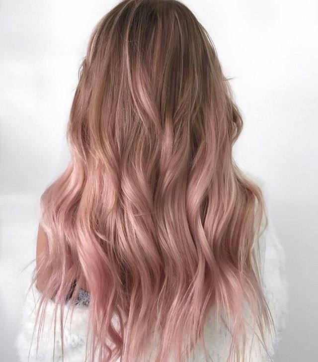 42 Trendy Rose Gold Blonde Hair Color Ideas – rose…