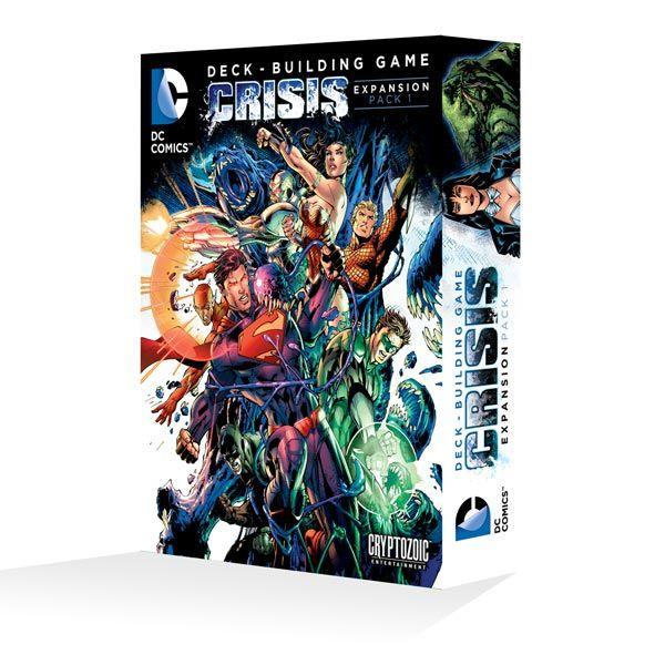DC deck builder expansion, Crisis.