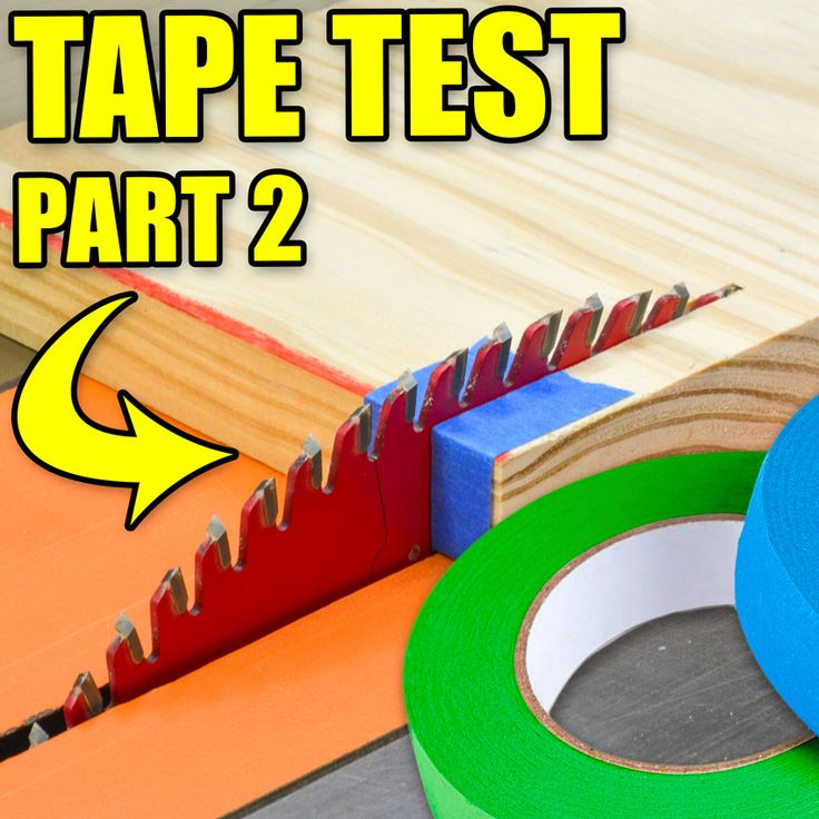 Does masking tape on wood give cleaner cuts and fewer tear-outs? We do the Table Saw Tape Tear-Out Tests! #woodworking #tablesaw