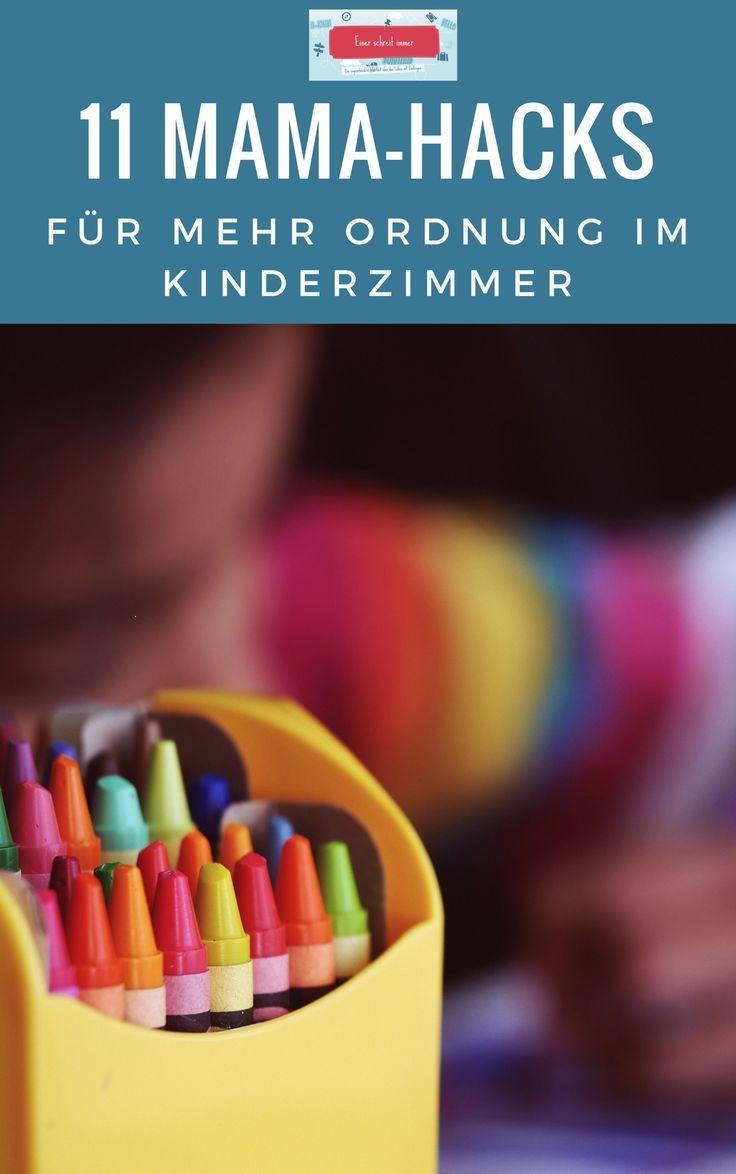 Die TOP 11 Ideen für mehr Ordnung im Kinderzimmer