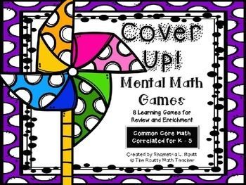 Looking for great games to help strengthen and develop your students' mental math skills?This K - 5 pack includes eight mental math games correlated to the Common Core Math Standards for review and challenge. There are two types of games. One-star games review basic grade level content.