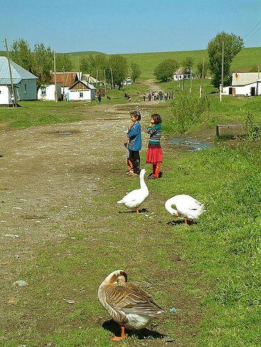 Remote Village Life in Kazakhstan