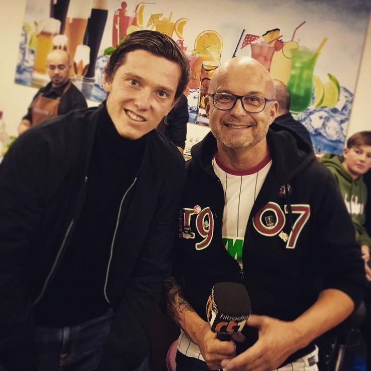 VIP TALK heute mit Michael Gregoritsch Danke Dir @mgregerl . #fca #augsburg #fcaugsburg #fcabvb #dortmund #heimspiel #heimsieg #bundesliga #rotgrünweiss #augsburgcity #augsburgerjungs #wwkarena #instadaily #instagood #bundesligageil #haunstetten #fussball #soccer #ig_today
