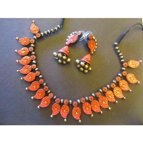 The Dilemma-Terracotta designer jewellery