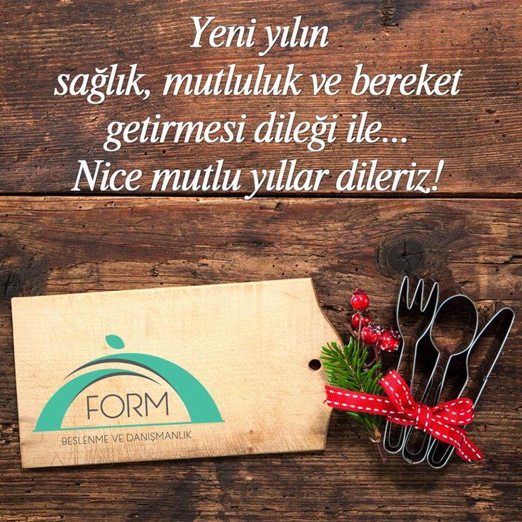 #YeniYıl 'ın #sağlık, #mutluluk ve #bereket getirmesi dileği ile..  Nice #MutluYıllar dileriz! #FormBeslenme