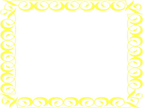 yellow frame clipart - photo #33
