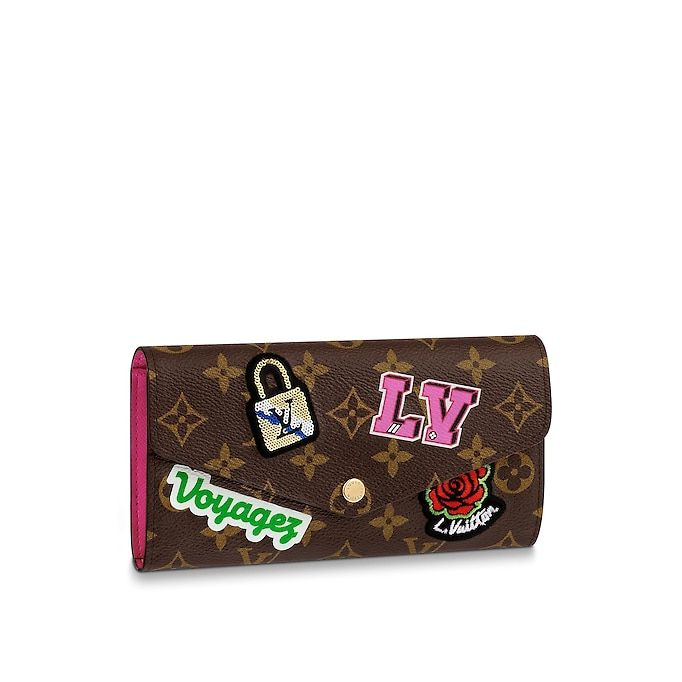 082697a0ec44 View 1 - Monogram SMALL LEATHER GOODS WALLETS Sarah Wallet