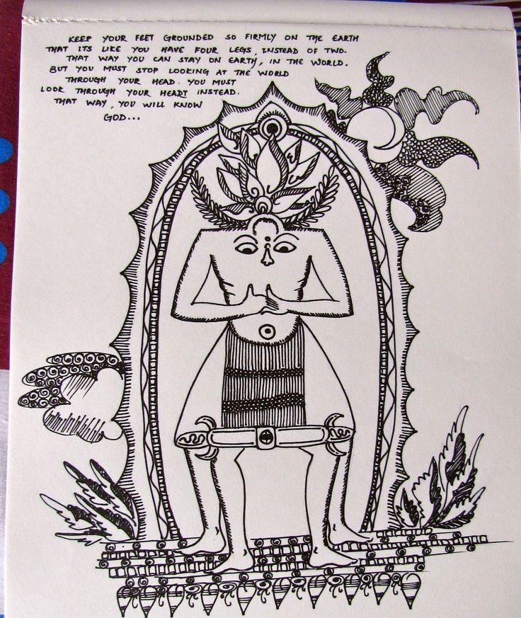 ketut drawing eat pray love - Buscar con Google