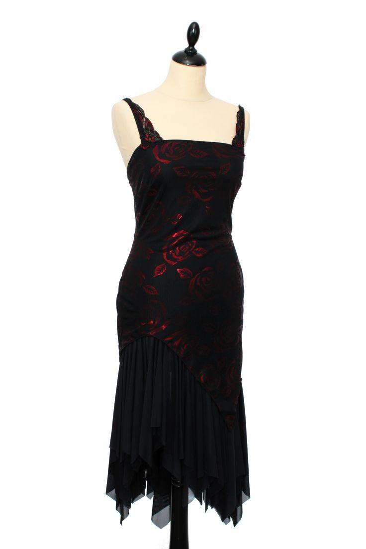 Fabuleuse Robe de Tango   Wonderful Tango Dress by IRYNA Créations. Made in France. #robe #tango #argentin #dance # #dress #latin