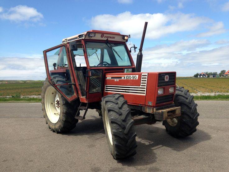 Fiat 10090 DT Tractors, Fiat, New holland