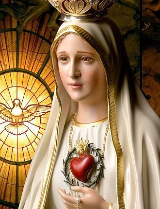 Our Lady of Fátima (Portuguese: Nossa Senhora de Fátima, European Portuguese…