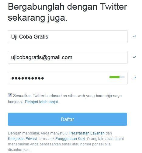 Cara Membuat Akun Twitter Dan Setting Lengkap Terbaru