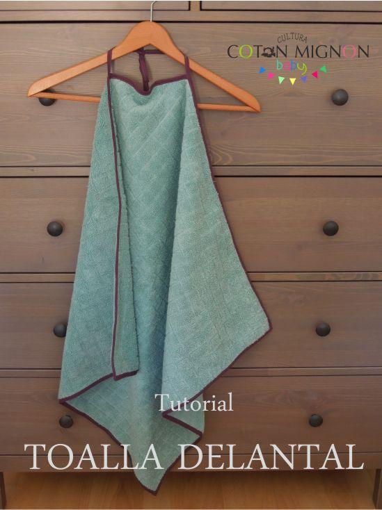 Tutorial toalla delantal cultura coton mignon tutorials for Coussin tripp trapp patron
