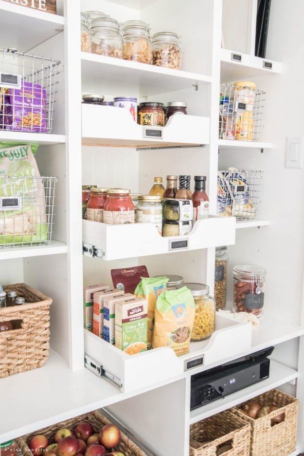 Customized Cubbies | 12 Ingenious Kitchen Pantry Organization Projects You Should Try This Winter