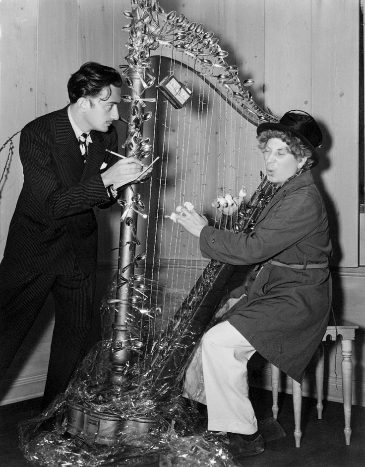 Dali and Surrealist Harp | #dali #salvadordali