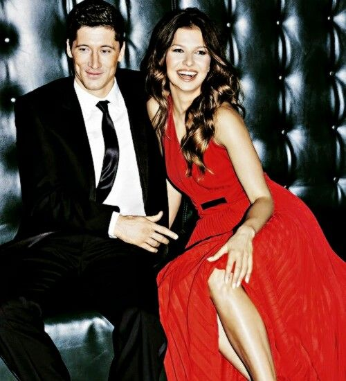 Robert Lewandowski and Anna Lewandowska