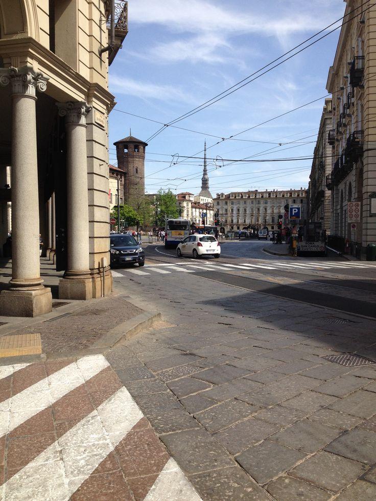 Una delle strade di Torino