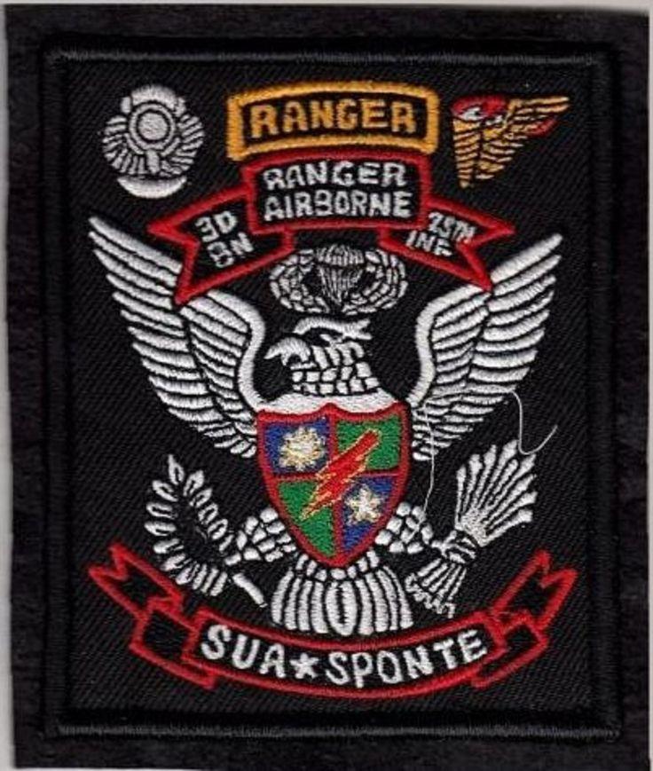 Ranger US Army 75th Ranger Regiment Airborne 3rd Battalion October 1974 ''Sua Sp