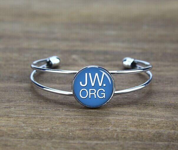 custom initials bangle bracelet, custom jw org letters, monogrammed bangle bracelet, custom your image or logo,custom font, Witnesses gift by ArtfireSupplies on Etsy https://www.etsy.com/listing/204674495/custom-initials-bangle-bracelet-custom