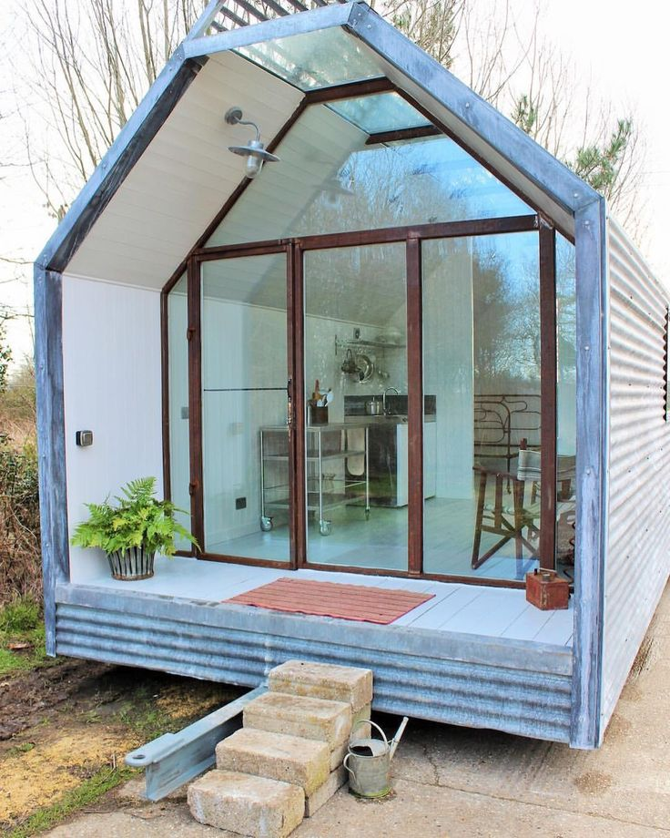 Shepherd Hut Floor Plans: Loads Of Glass. What Do You Think?